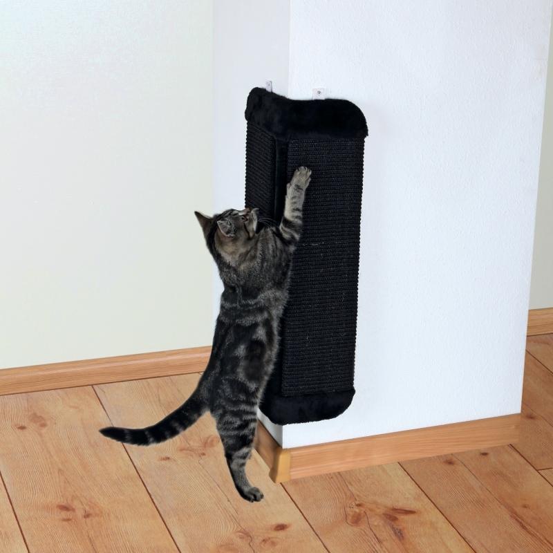 Trixie Tabla Rascadora para Esquinas Negro 32×60 cm