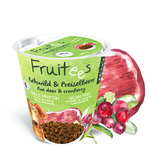 Bosch Fruitees - Roe Deer & Cranberries 200 g kjøp billig med rabatt