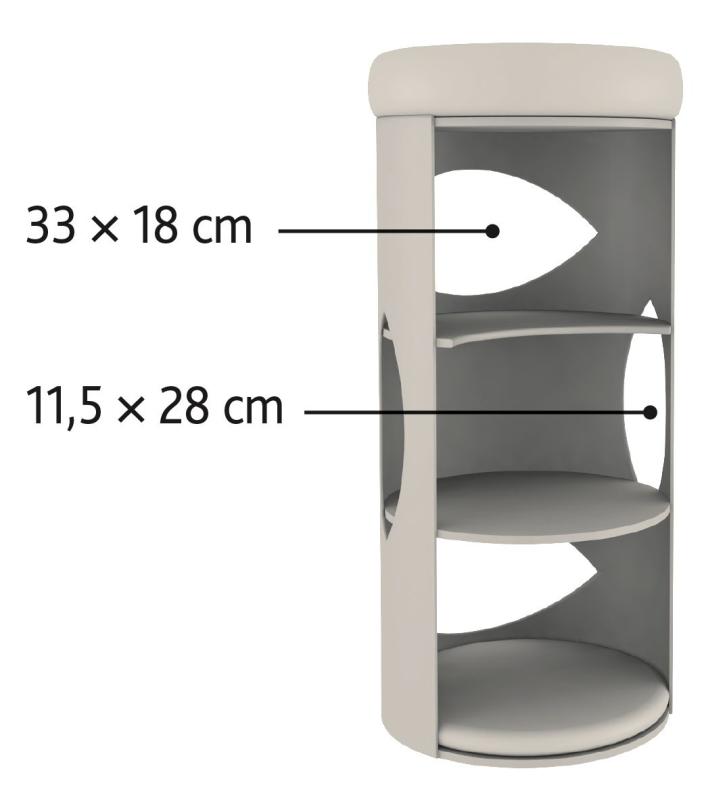Trixie Torre Rascador Gracia  85 cm