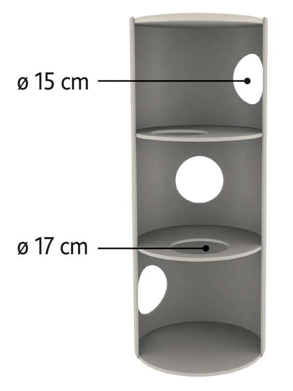 Trixie Amado Cat Tower  Svart 100 cm