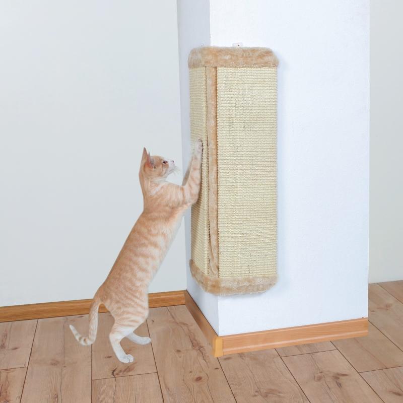Trixie Scratching Board XL for Corners  Beige 40x75 cm