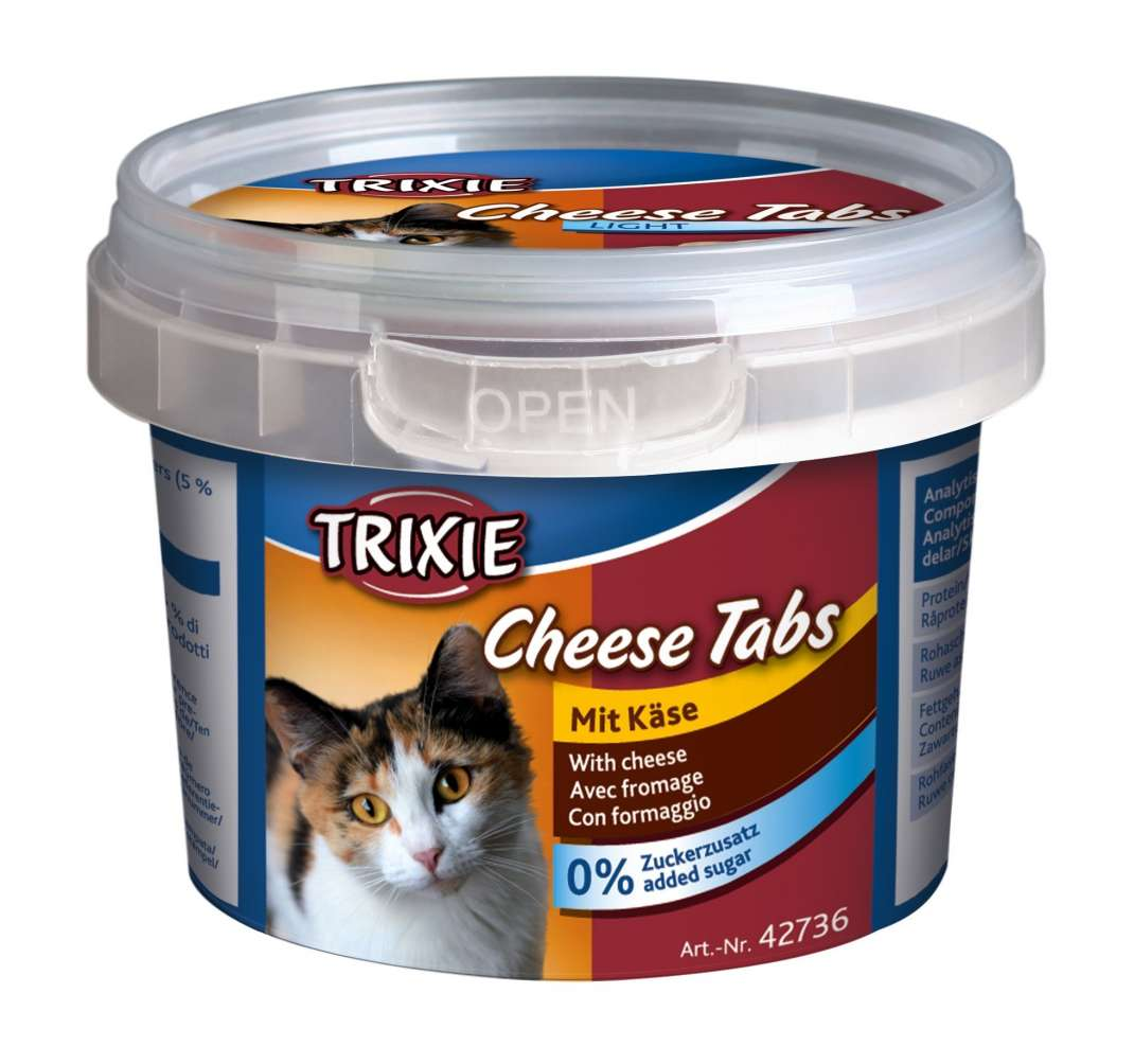 Trixie Cheese Tabs 75 g 4011905427362
