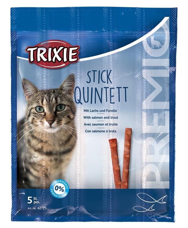 Trixie Premio Stick Quintett, Salmon/Trout 25 g