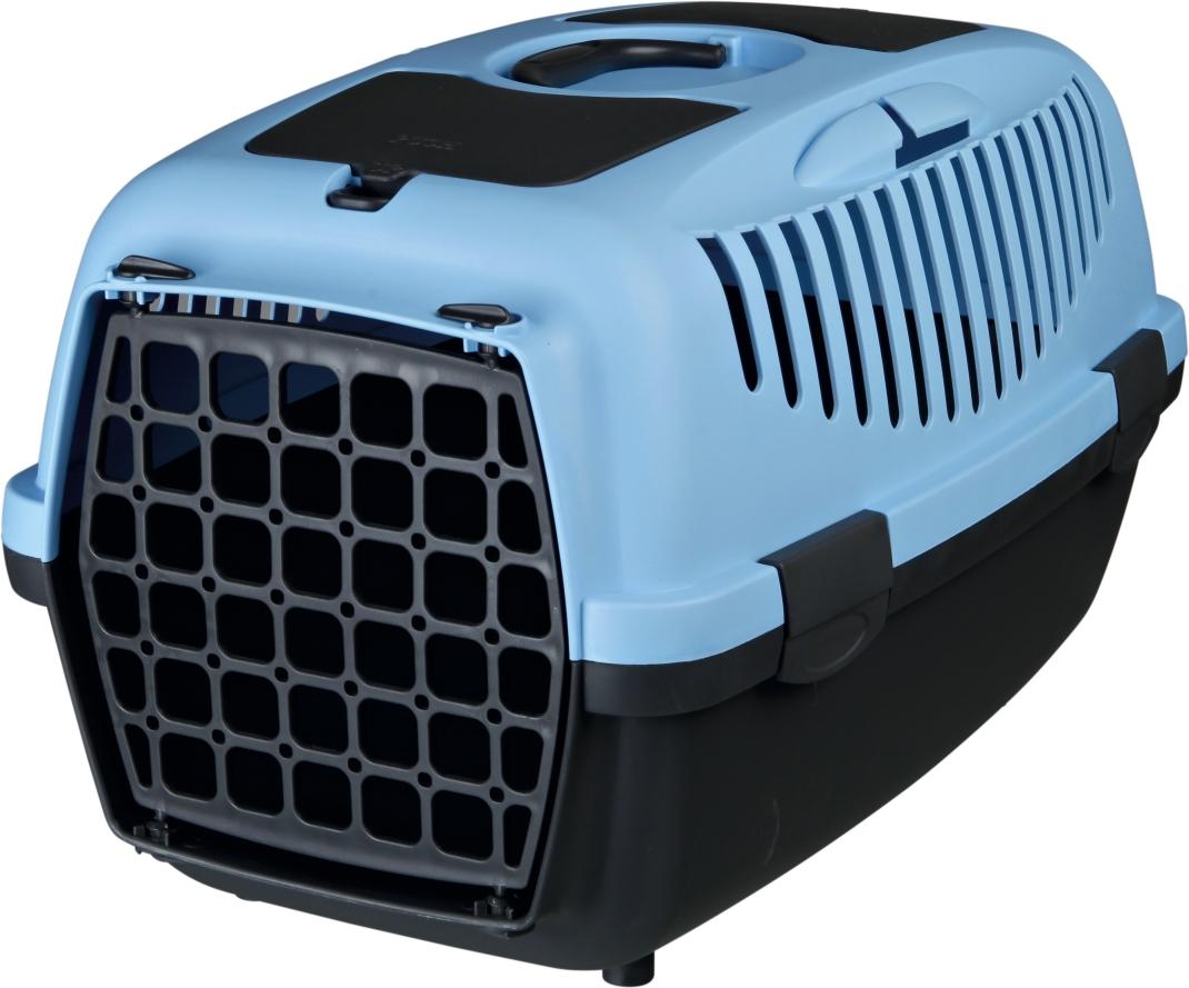 Trixie Vervoersbox Capri 1 & 2 Blauw  met korting aantrekkelijk en goedkoop kopen