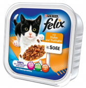 Felix Chunks in Sauce with Chicken & Turkey - EAN: 4000487118300