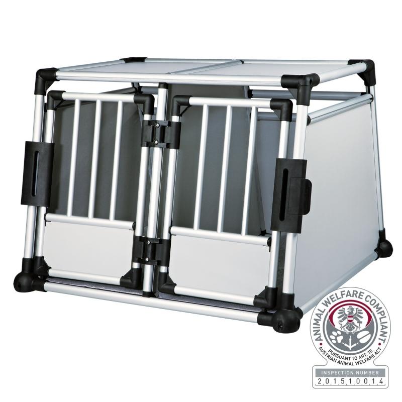 Trixie Dubbele Vervoersbox 93x64x88 cm  met korting aantrekkelijk en goedkoop kopen
