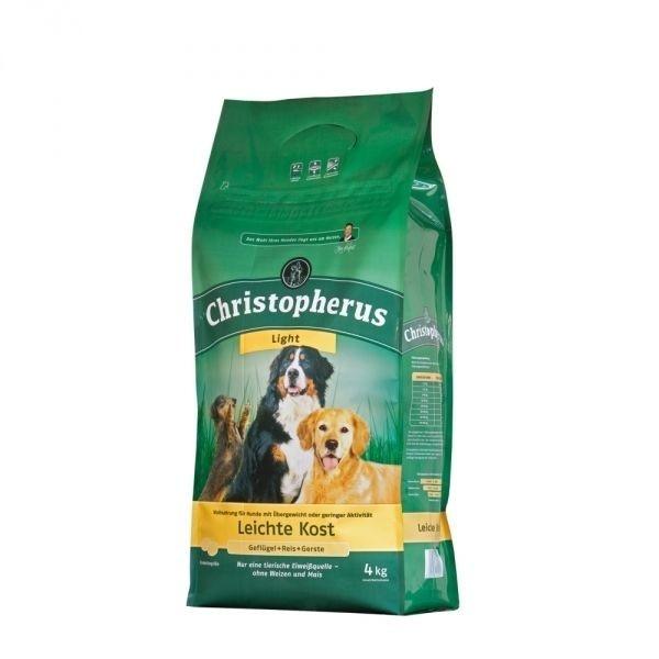 Christopherus Leichte Kost – Gevogelte, Rijst & Gerst 4 kg