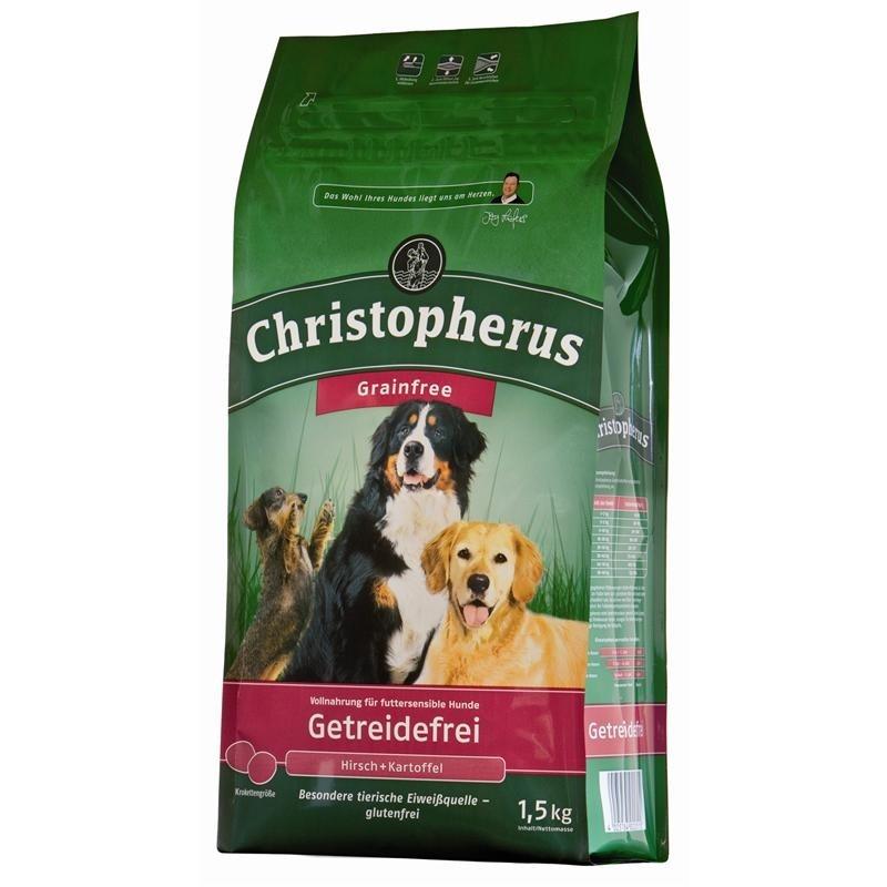 Christopherus Adult Dog Grainfree – Deer and Potatoes 1.5 kg 4005784022589 ervaringen