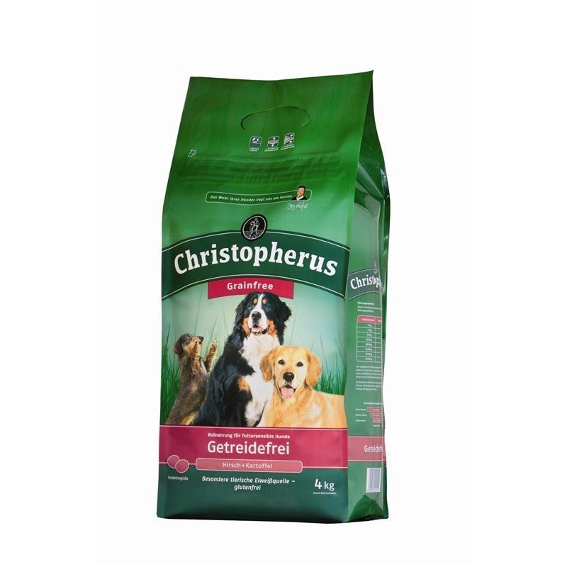 Christopherus Adult Dog Grainfree – Deer & Potatoes 4 kg