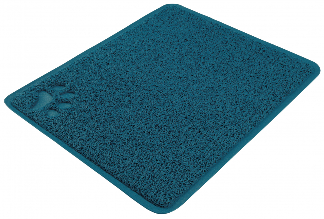 Trixie Litter Tray Mat rectangle Petrol 37x45 cm