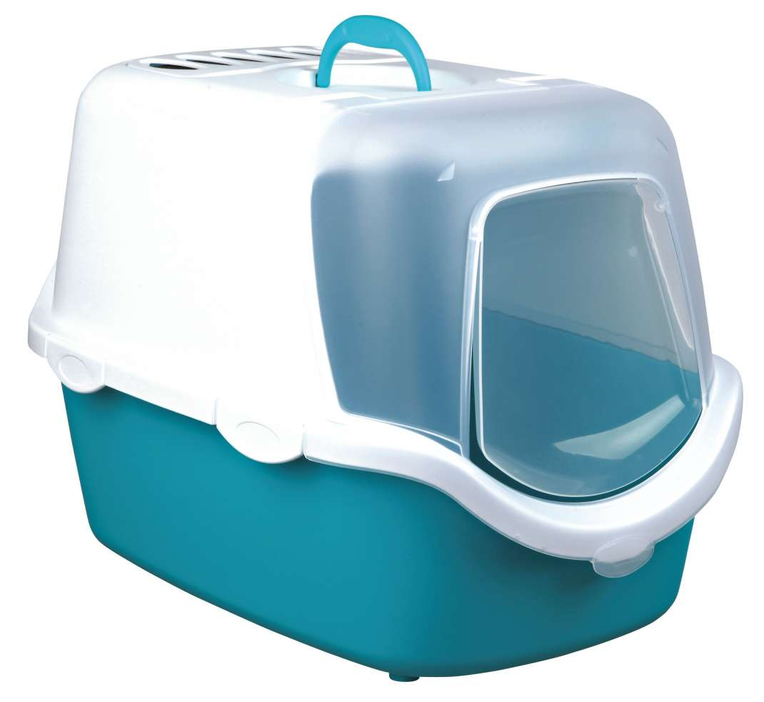Trixie Vico Easy Clean Litter Tray, with Hood Measurements 40x40x56 cm