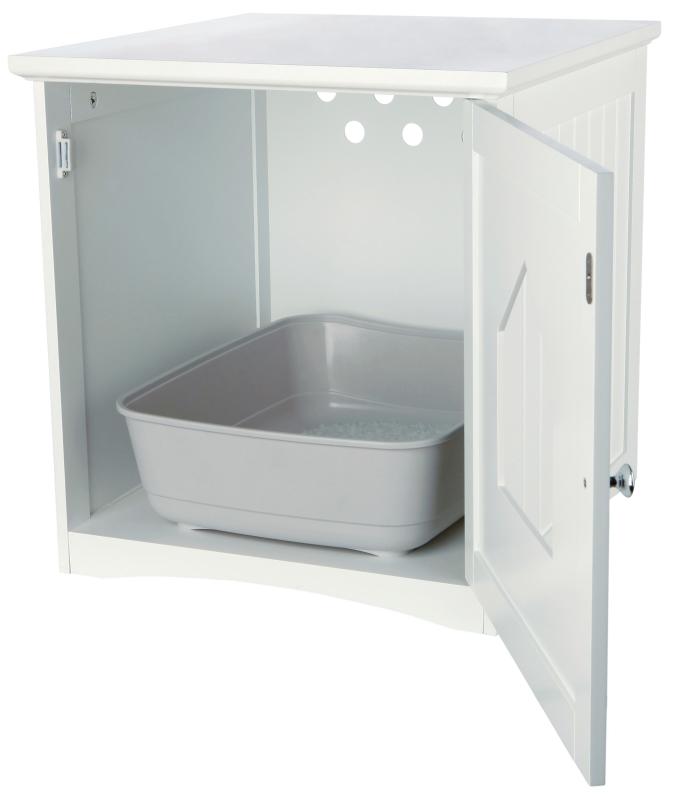 trixie katzenhaus wei 49x51x51 cm online kaufen. Black Bedroom Furniture Sets. Home Design Ideas