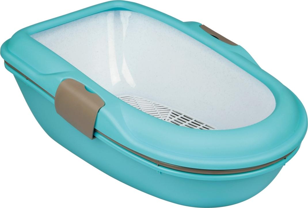 Trixie Berto Litter Tray Threepart with Separating System  Aqua