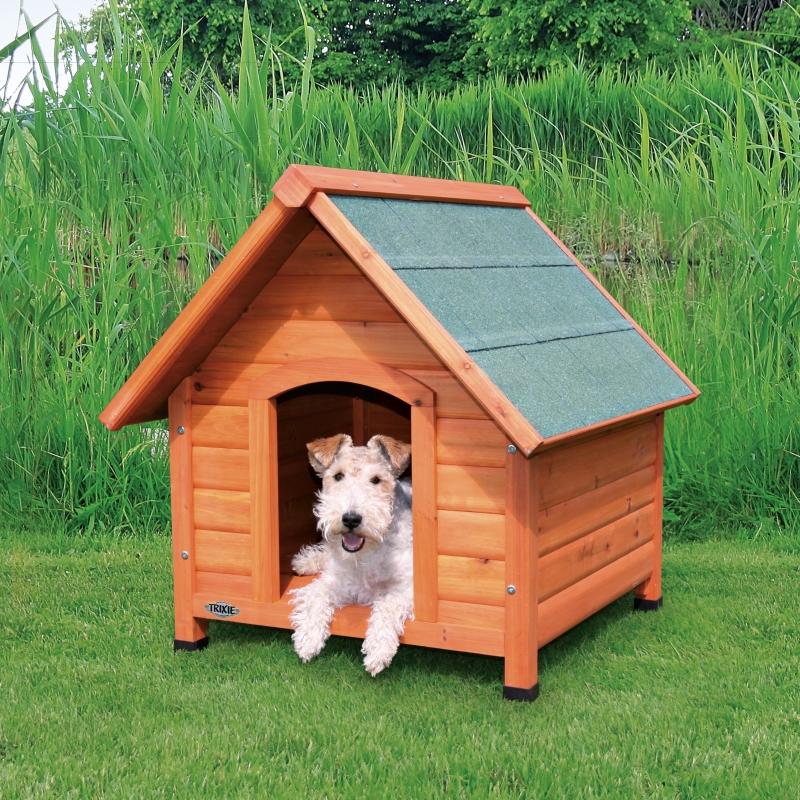 Natura Cottage Dog Kennel 71x77x76 cm  af Trixie køb rimeligt og favoribelt med rabat