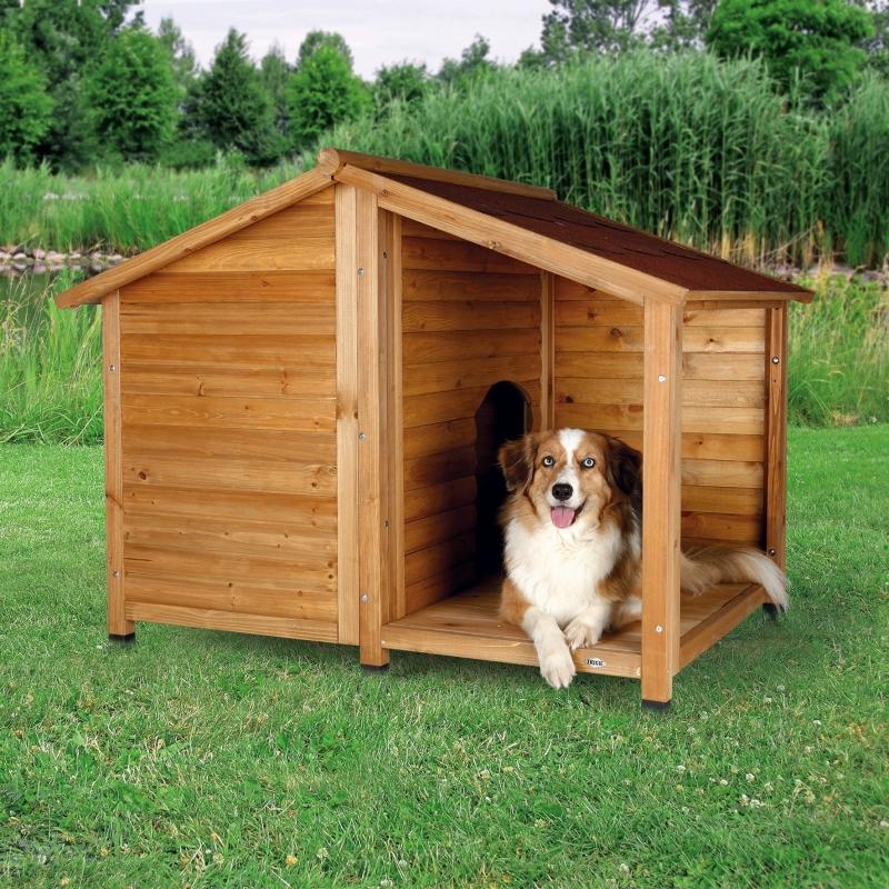 Trixie Natura Hundehütte Lodge Braun 4011905395128 Erfahrungsberichte