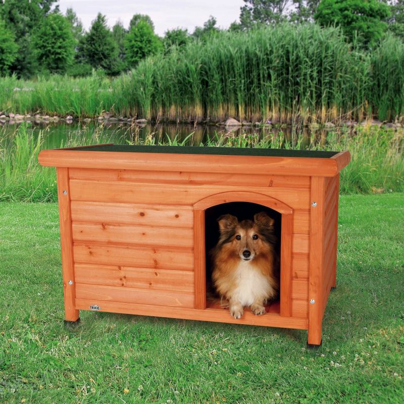 Trixie Classic Dog Kennel Light brown 85x58x60 cm buy online