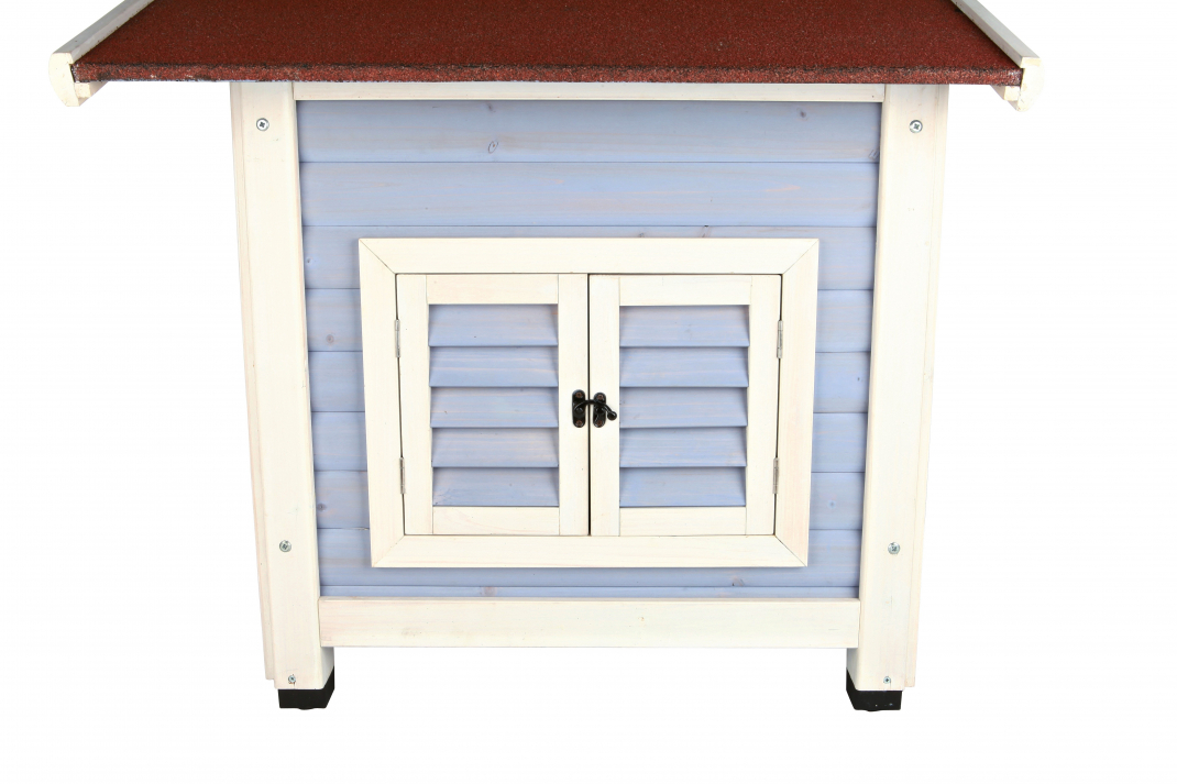 Trixie Natura Dog's Inn Dog Kennel  91x80x80 cm Himmelsblå