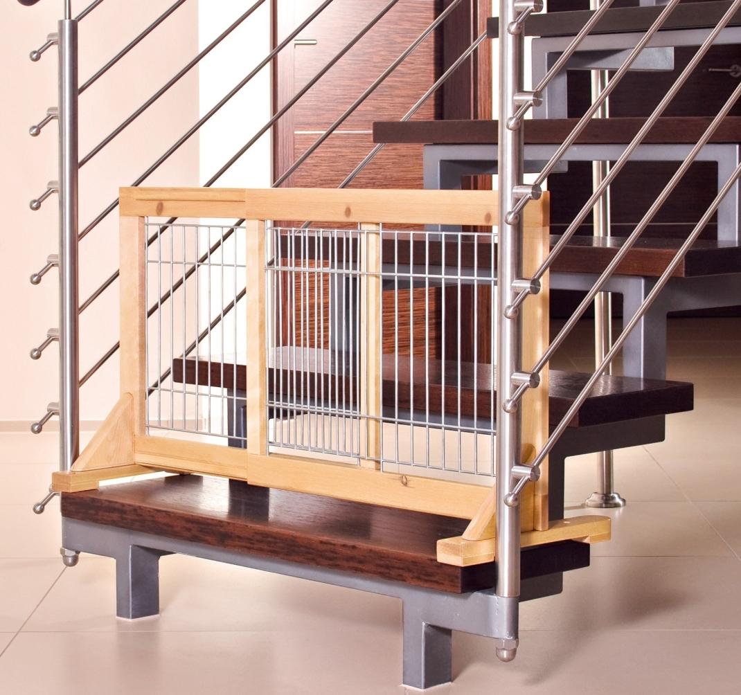 Trixie Hunde-Absperrgitter, Holz 63-108x50 cm