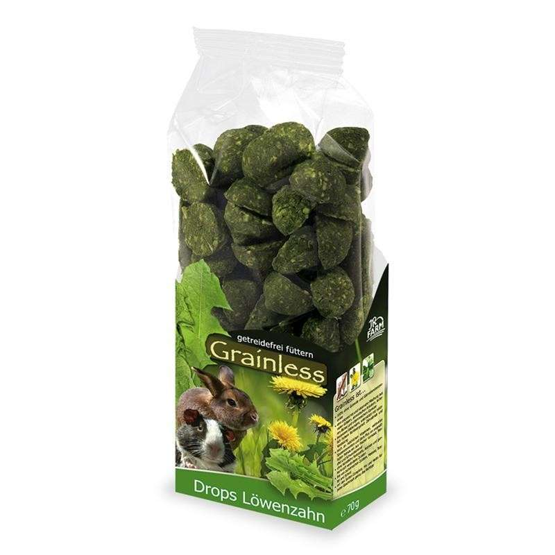 Grainless Dandelion Drops by JR Farm 140 g buy online