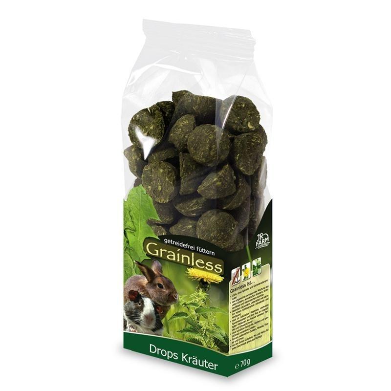 JR Farm Grainless Herb Drops 140 g