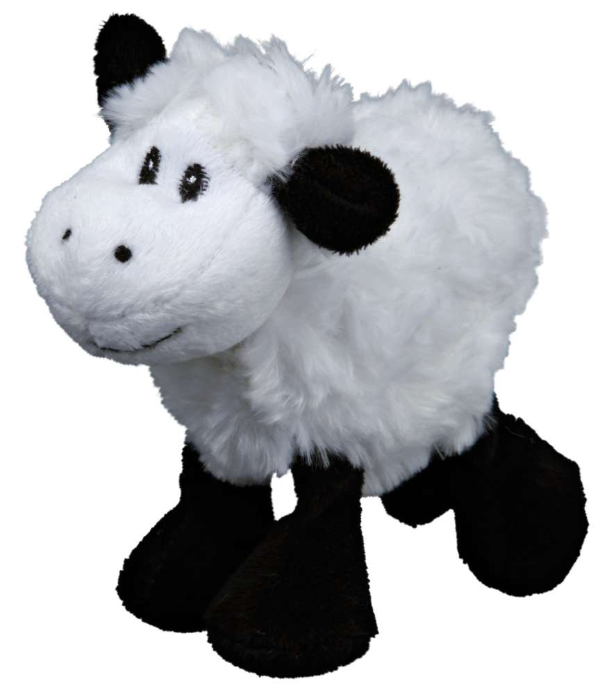 Stuffed toys Sheep with Sound, Plush 14 cm  by Trixie Buy fair and favorable with a discount
