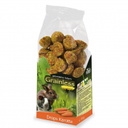 Grainless Drops carotte 140 g de chez JR Farm