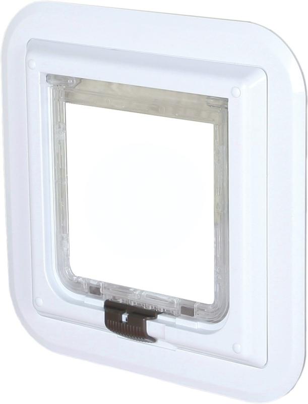 Trixie 4-vägs Kattlucka för Glasdörrar  30.7x30.7 cm