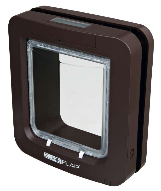 Trixie SureFlap Cat Flap with Microchip Identification Brown  buy online