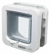 SureFlap Cat Flap with Microchip Identification Hvid