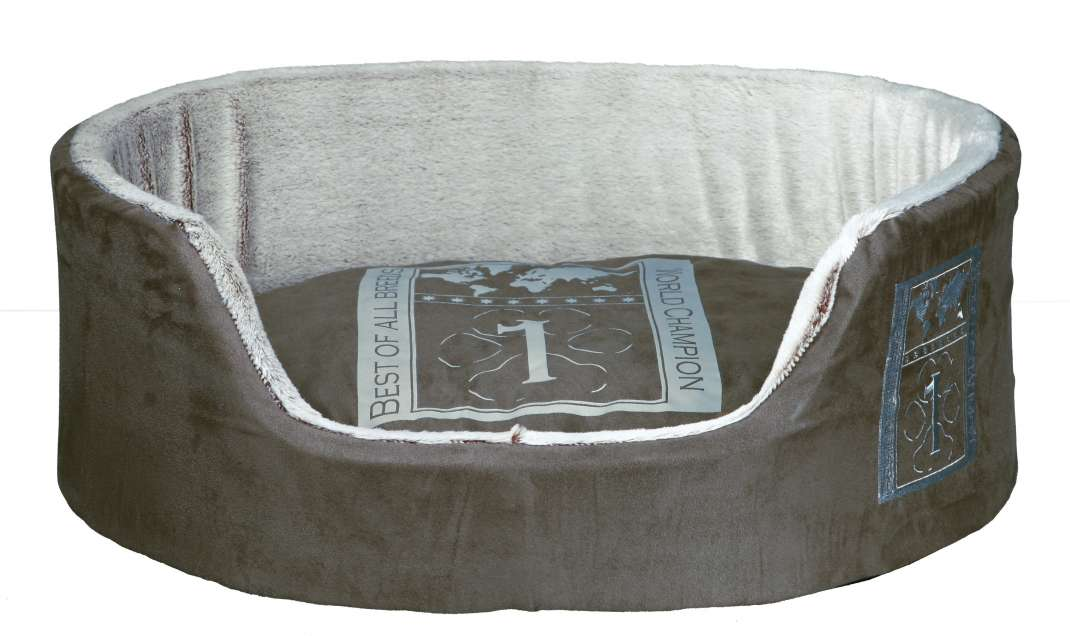 Trixie Cama Best of all Breeds, Taupe/Gris claro 100x75 cm Gris claro
