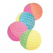 Set of Toy Balls Foam Rubber from Trixie 4 cm