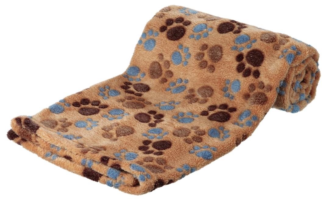 Laslo Blanket Lysebrun 75x50 cm af Trixie køb rimeligt og favoribelt med rabat