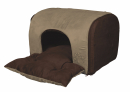 Hollis Cuddly Cave, sand/dark brown 43x32x36 cm