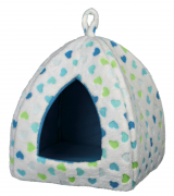 Trixie Valerio Cuddly Cave, white/blue Art.-Nr.: 51157