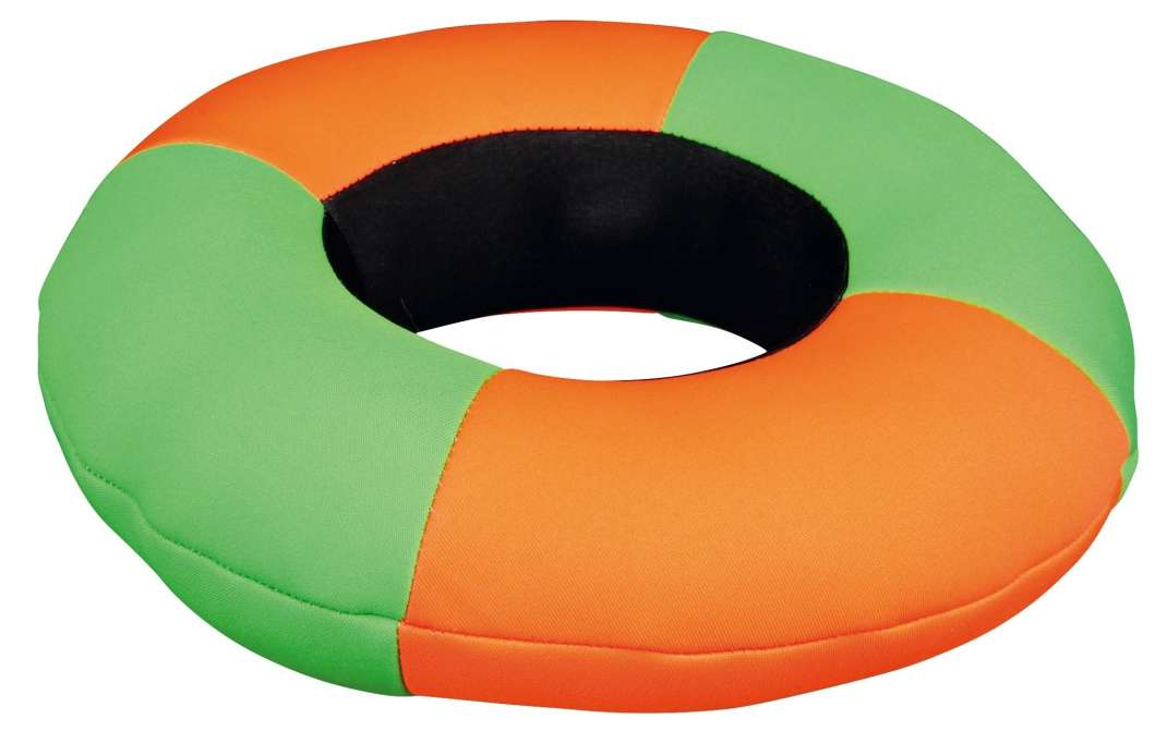 Trixie Aqua Toy Ring, polyester-gemengd weefsel, blijft drijven, 20 cm  Ring