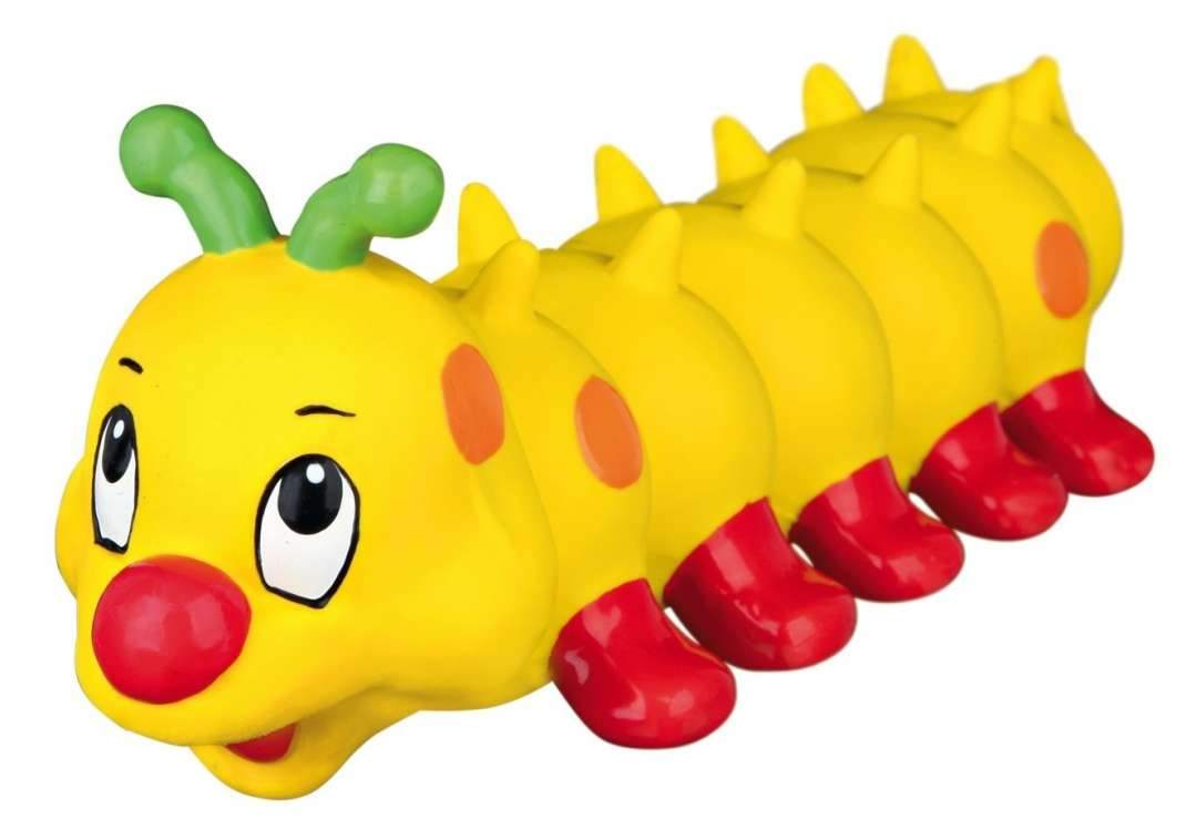 Squeaky toys Caterpillar, Latex 26cm by Trixie Buy fair and favorable with a discount