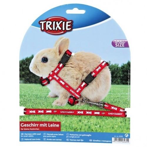 Trixie Tuig met Riem voor Dwergkonijnen  4011905062655