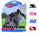 Cat Harness with Leash, Nylon 27-45/1 cm