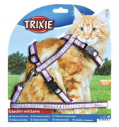 Cat Harness with Leash, Nylon 25-44/1 cm