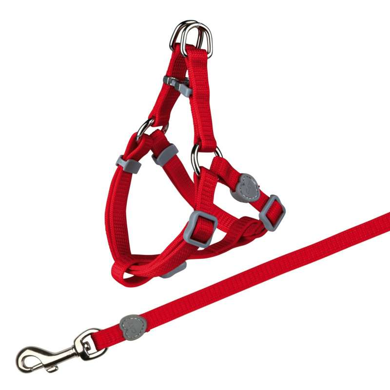 Trixie Cat One Touch Harness with Leash, Nylon  26-37/1 cm
