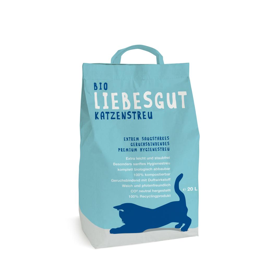 Liebesgut Organic Cat Litter 20 l  buy online