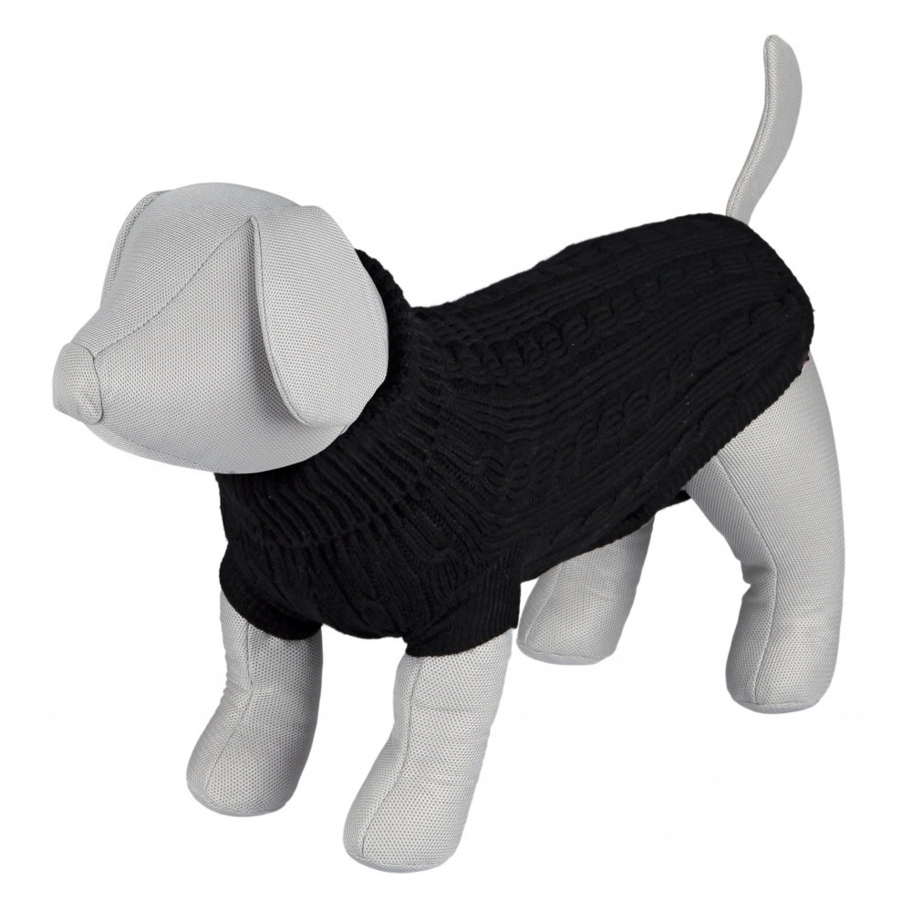 Trixie King of Dogs Pullover, Noir 45 cm