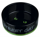 Street Cat Ceramic Bowl 300 ml