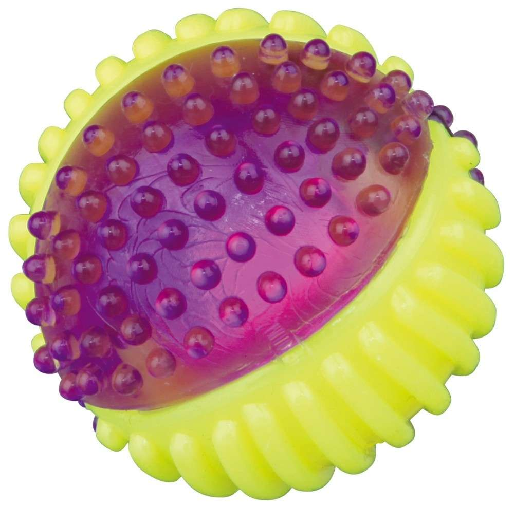 Rubber Balls TPR Flashing Ball Floating 7cm by Trixie Buy fair and favorable with a discount