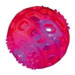 Trixie Flashing Ball TPR Floating