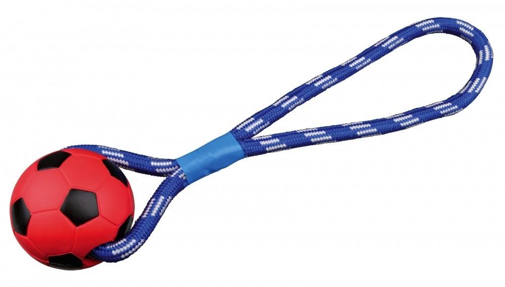 Trixie Palla da Calcio con Corda in Gomma Naturale 8/35 cm  acquista comodamente con uno sconto