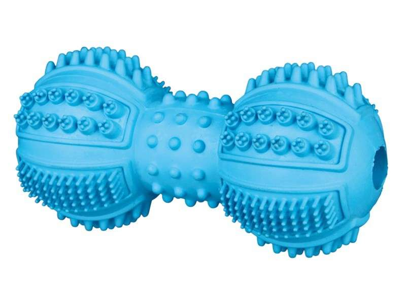 Denta Fun Dumbbell, Natural Rubber 9 cm  from Trixie
