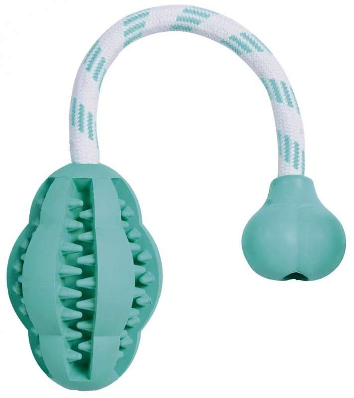 Denta Fun Mintfresh, Natural Rubber, ø8/28 cm Jumper on a Rope   from Trixie
