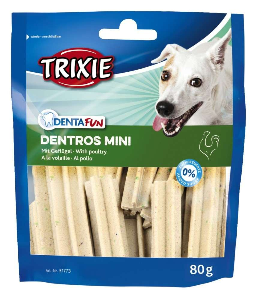 Denta Fun Dentros Mini with Poultry from Trixie 80 g buy online