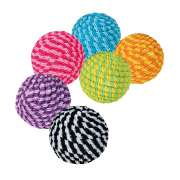 Assortment Spiral Balls, Plastic/Nylon Trixie the best quality at great prices online